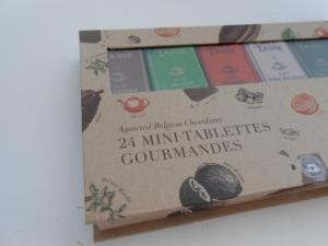 Assortiment 24 mini tablettes